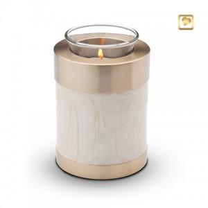 CHK 405 - white tealight
