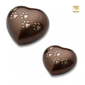 HUH 012 set - brass hearts
