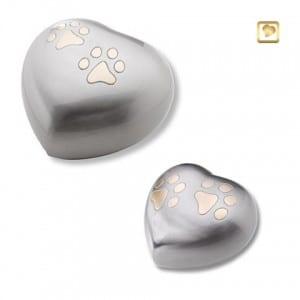 HUH 015 set - silver hearts