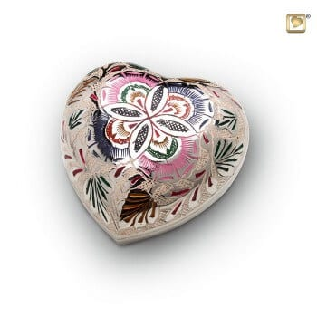 pet urns decorative token heart