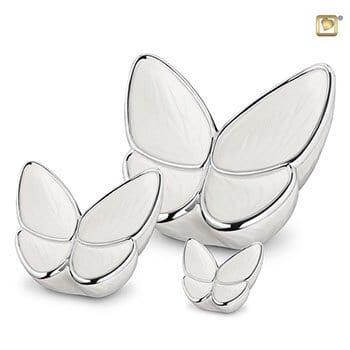 Butterfly Urn - Pearl