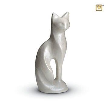 White Tall Cat