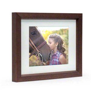Walnut Midi Photo Frame
