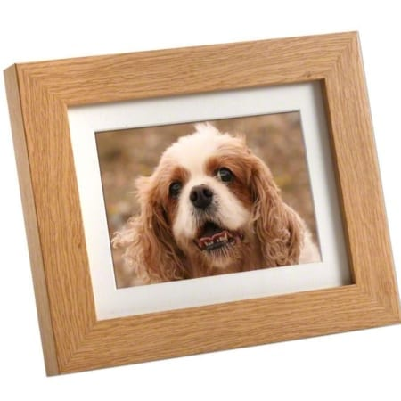 Oak Mini Photo Frame