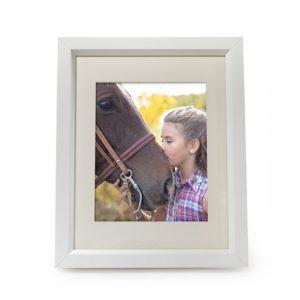 White Midi Photo Frame